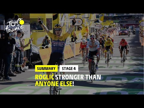 #TDF2020 – Stage 4 – Highlights