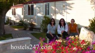 Rome Hostels Video from Hostels247.com-Flaminio Village Camping Bungalow Park