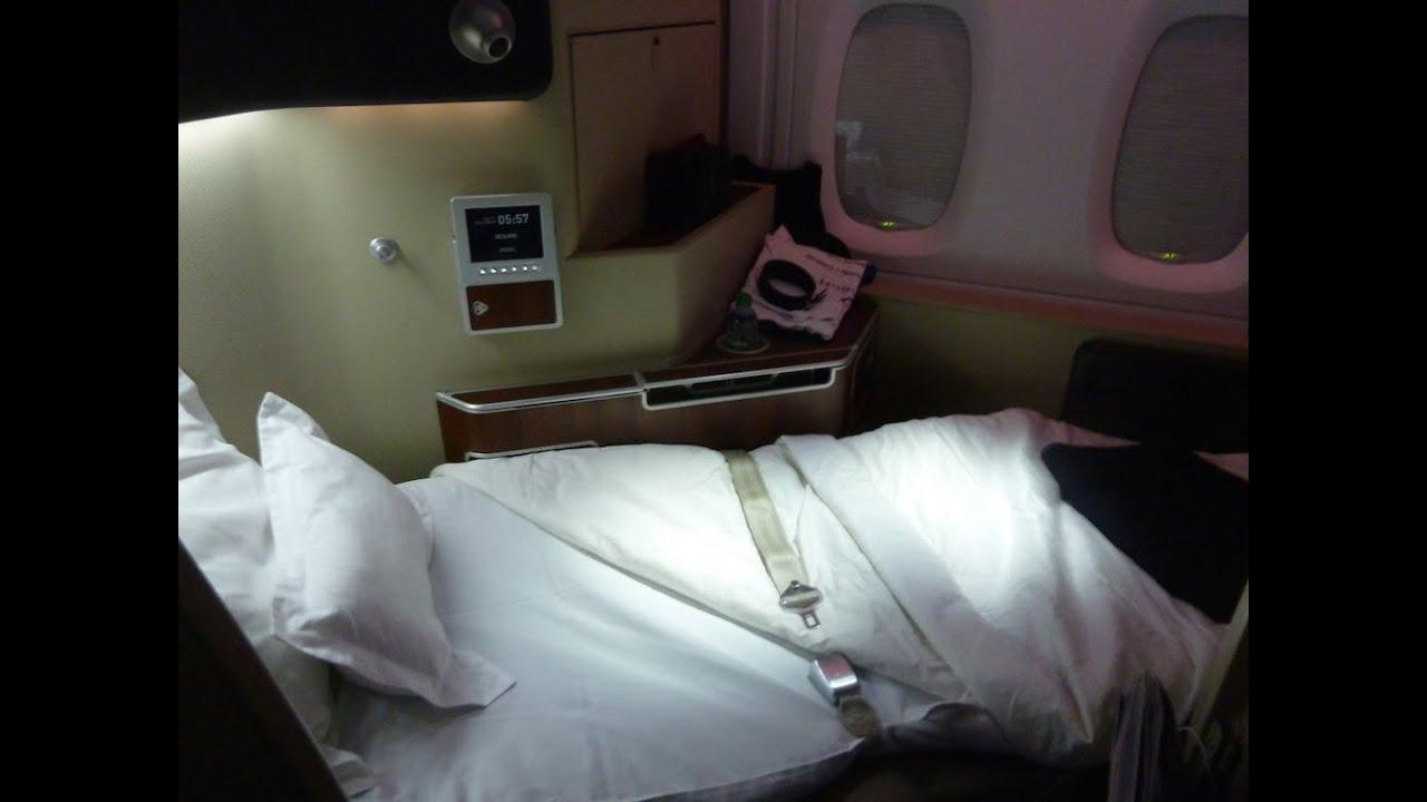 Qantas First Class A380 First Class First Class Flights Youtube