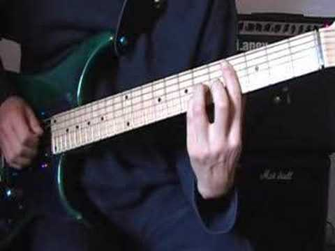 Radiohead-In Rainbows-15 Steps Guitar Riff And Slow Down