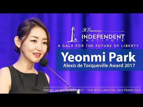 Yeonmi Park  | Alexis de Tocqueville Award | Gala for the Future of Liberty
