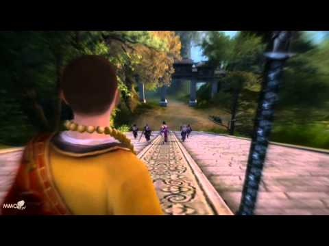 Age of Wushu Gameplay combat skills – MMO HD TV (720p)