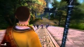 Age of Wushu Gameplay combat skills - MMO HD TV (720p)