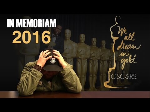 Intoxicated Man Cries Watching 88th Academy Awards Memoriam | Oscars 2016