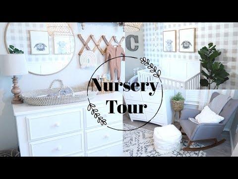 NURSERY TOUR   GENDER NEUTRAL NURSERY   BRITTANI BOREN LEACH
