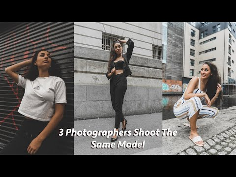 3 Photographers Shoot The Same Model | Andrew Mclean