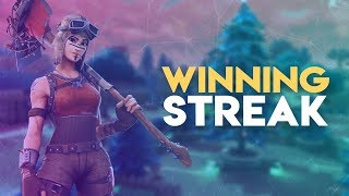 GETTING PREPARED FOR THE NEW FORTNITE UPDATE w/ A 3 WIN STREAK! - (Fortnite Battle Royale)