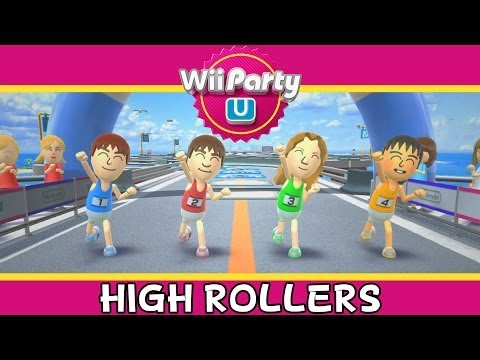 Wii Party U – High Rollers – Party Mode