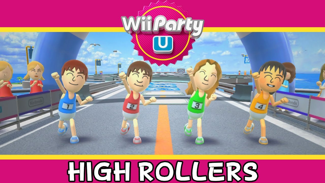 Wii Party U High Rollers Party Mode Youtube