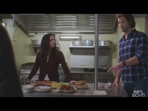 Supernatural - Sam & Eileen Make Breakfast 15x07