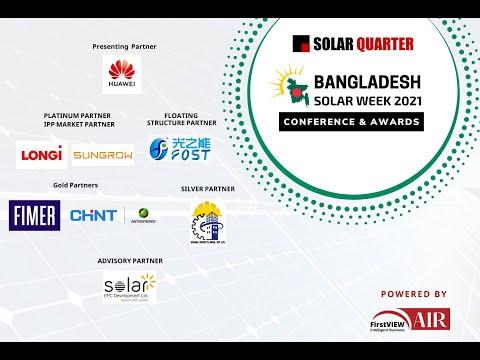 Bangladesh Solar Week: Conference & Awards Day1