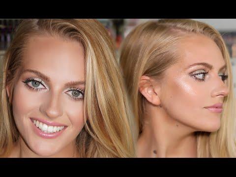 Blonde Hair Glam | FULL Contour & Highlight