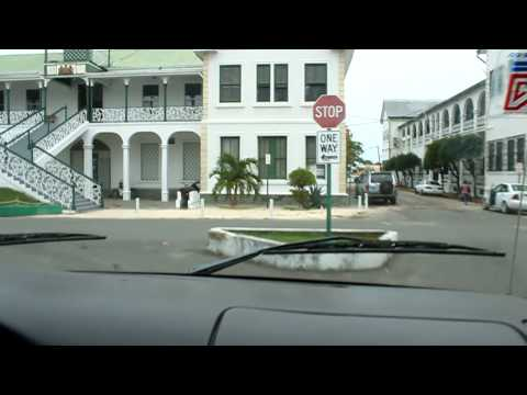 Tour of Downtown Belize City