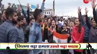Pulwama terror attack: Locals Protest against Pakistan in J&K's Kathua