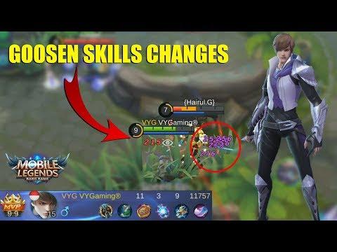 HERO BARU GOSSEN Jadi Mage Assassin Makin Sadis Anjay!?! (Mobile Legends Indonesia)