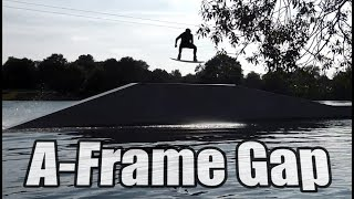 A-Frame Gap Obstacle Wakeboard Tutorial