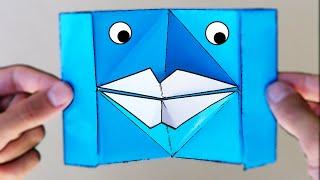 Labios de Papel que HABLAN! - Origami