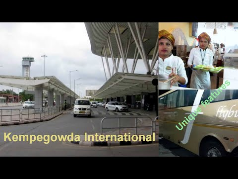 What Is UNIQUE At Bangalore Kempegowda International Airport