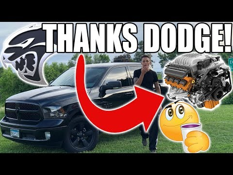 WE'RE INSTALLING THE HELLCAT ENGINE & TRANSMISSION INTO MY RAM!!