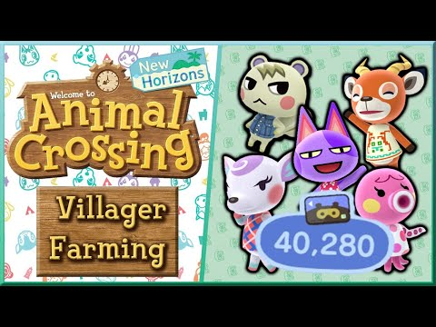 I HAVE 40 NOOK MILE TICKETS! LETS FARM FOR VILLAGERS - Animal Crossing New Horizons - Day 11 - Live!