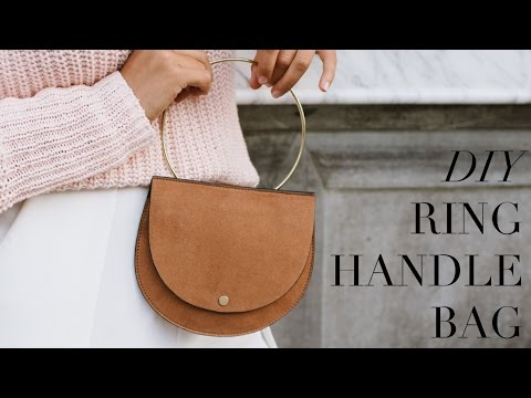 DIY Metal Ring Handle Bag