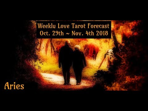 Aries *You know it in your heart!* ~ Oct 29th - Nov 4th Lovescope