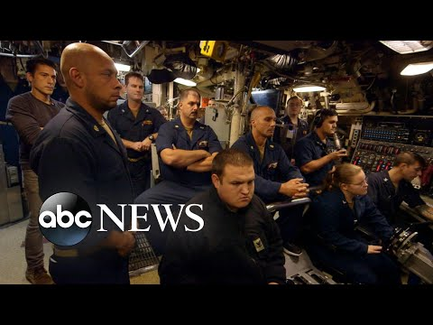 A rare look inside nuclear powered submarine USS Florida | Nightline