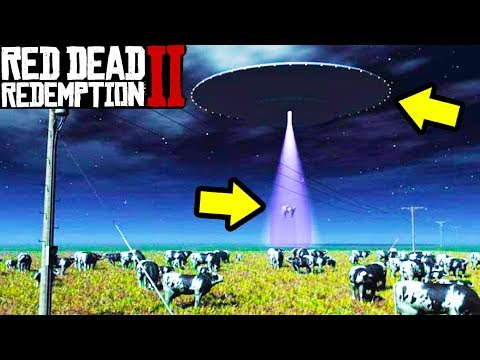 UFO ABDUCTIONS HAPPENING in Red Dead Redemption 2! thumbnail