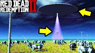 UFO ABDUCTIONS HAPPENING in Red Dead Redemption 2!