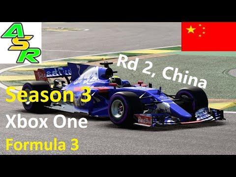 ASR F1 2017 S3 XB1 F3 League: Go away rain!! (Rd 2, China)