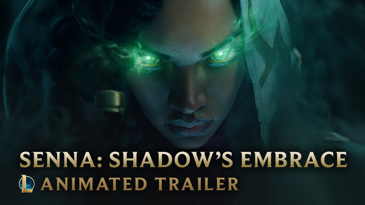 Senna: Shadow's Embrace | Champion Animated Trailer - League of Legends thumbnail