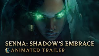 Senna Shadows Embrace  Champion Animated Trailer - League of Legends