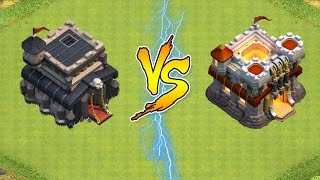 Clash of Clans    TH 11 TWO STARED BY TH 9 ?!    Clash with Theo