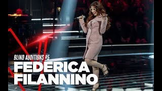 "Federica Filannino  ""Via con me"" - Blind Auditions #4 - TVOI 2019"