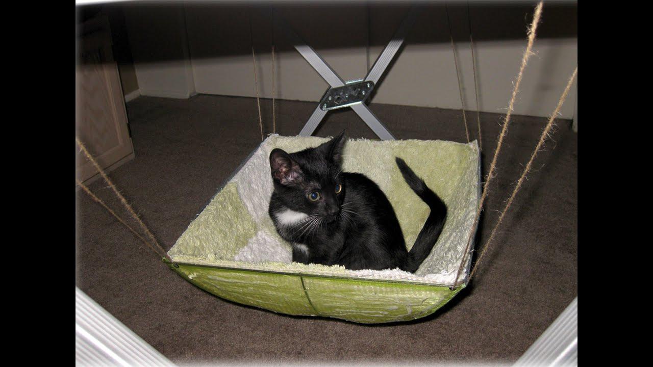 DIY cat house for outside - YouTube