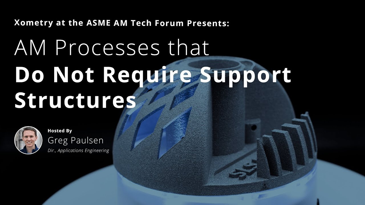 AM Processes that Do Not Require Support Structures
