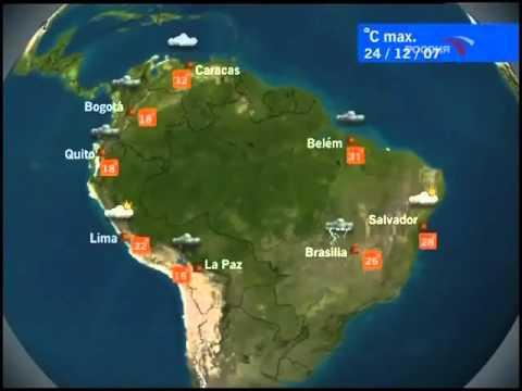Заставка World Weather и погода (Россия/Euronews, 2007)