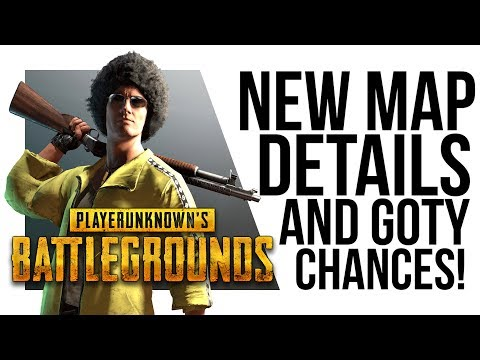 Battlegrounds NEW MAP LEAK + Brendan Greene says PUBG is NOT GOTY!?