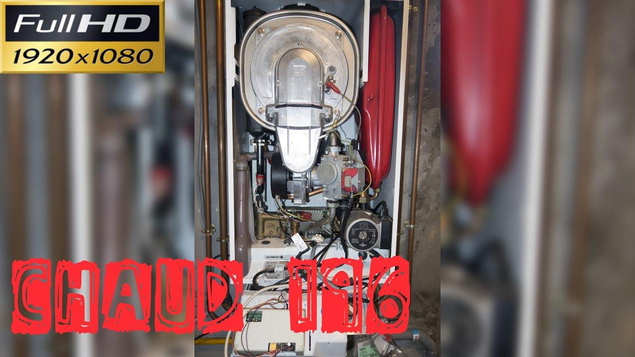 Chaud196 d couverte de la chaudi re murale condensation - Table induction de dietrich dti1358dg ...