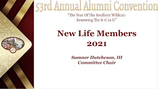 Day 2.7 New Life Members 2021 / Closing Remarks