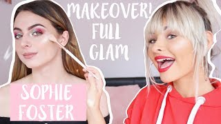 FULL GLAM MAKEOVERS: SOPHIE FOSTER | Talia Mar
