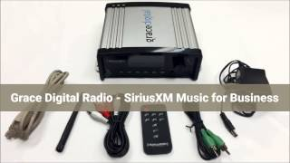 Grace Digital Internet Radio (GDI-SXBR1) | SiriusXM Music for Businesss