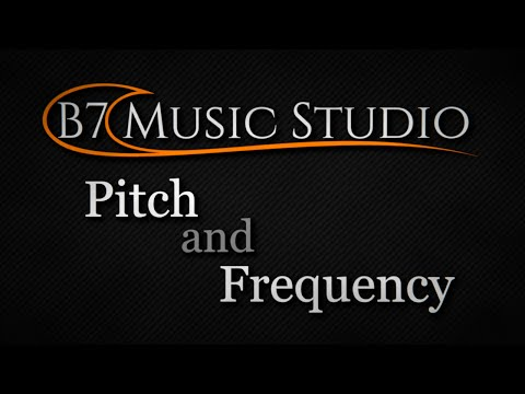 Pitch and Frequency
