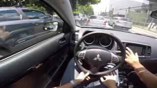 Mitsubishi Lancer 2.0 CVT Test Drive Onboard POV GoPro + Comentários