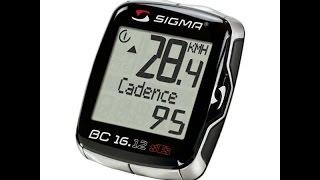 Обзор и НАСТРОЙКА Велокомпьютера Sigma Sport 16.12 STS CAD