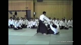 1990 München Germany Aikido Yamaguchi seigo sensei