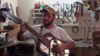 Viola Dinâmica Tricone 12 Cordas - Luthier Luciano Queiroz