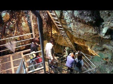 Awamori stored in limestone cave~鍾乳洞に眠る泡盛