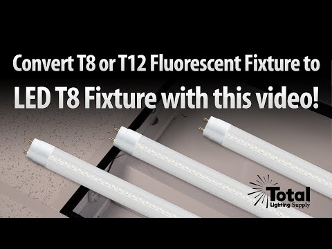 convert-t8-/-t12-fluorescent-tube-light-to-single-end-powered-led-t8-tubes-by-total-lighting-supply