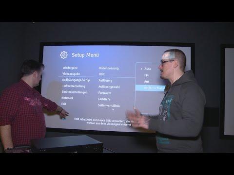 Vorstellung des OPPO UDP 203 Ultra HD Player in der GROBI.TV Edition